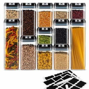 Seseno Top Ten Clear Food Storage Container Sets