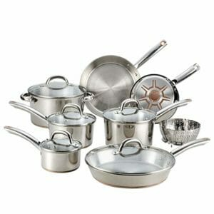 T-fal Top Ten Stainless Steel Cookware Sets