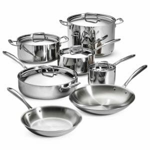 Tramontina Top Ten Stainless Steel Cookware Sets