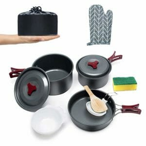Urbenfit Top Ten Camping Cookware Sets