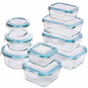 Utopia Kitchen Top Ten Clear Food Storage Container Sets