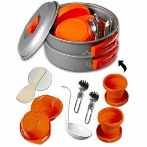 gear4U Top Ten Camping Cookware Sets
