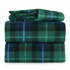 AM Home Fashion Top Ten Queen Size Flannel Sheet Sets