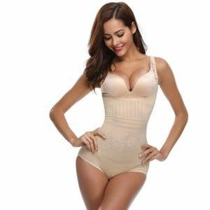 Aibrou Women Top 10 Body-Shaping Bodysuits For Women