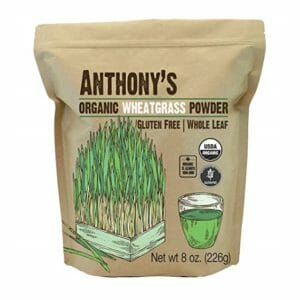 Anthony's Top Ten Wheatgrass Powder