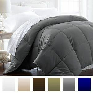 Beckham Top Ten Twin Size Down and Down Alternative Comforters