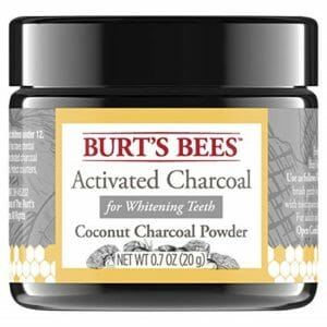 Burt's Bees Top 10 Activated Coconut Charcoal Powders