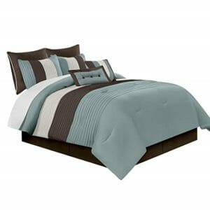 Chezmoi Collection Top Ten Queen Size Bed In A Bag Sets