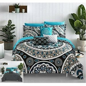 Chic Home Top Ten King Size Bed In A Bag Sets