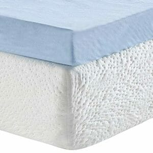 Classic Brands Top Ten Queen Size Memory Foam Mattress Toppers