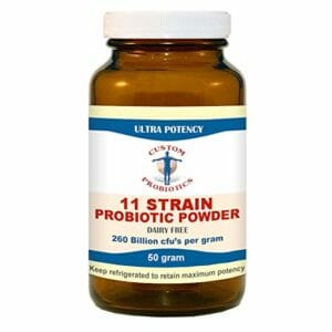 Custom Probiotics Top Ten Probiotic Powder