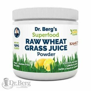 Dr Berg's Top Ten Wheatgrass Powder