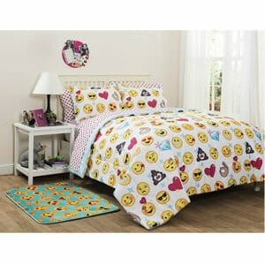 Emoji Pals Top Ten Twin Size Bed In A Bag Sets