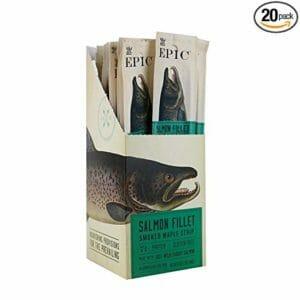 Epic 20 top 10 salmon jerky