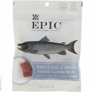 Epic Provisions Top Ten Salmon Jerky