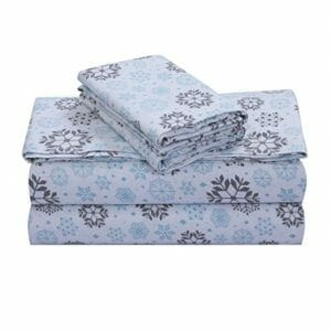 FEATHER & STITCH Top Ten Queen Size Flannel Sheet Sets