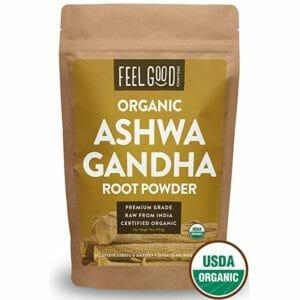 Feel Good Organics Top 10 Ashwagandha Powders