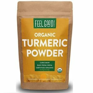 Feel Good Organics Top 10 Turmeric Powder
