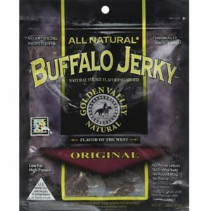 Golden Valley Top Ten Bison Jerky