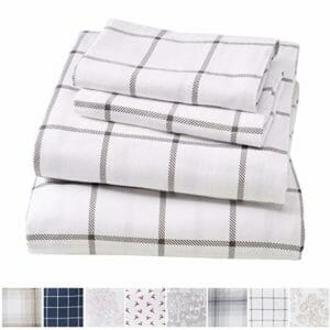 Great Bay Home Top Ten King Size Flannel Sheet Sets