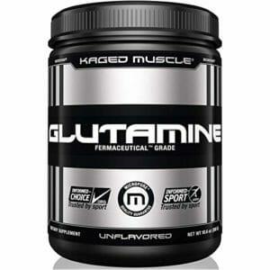 KAGED MUSCLE Top 10 Glutamine Powder