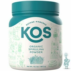 KOS Top Ten Spirulina Powder