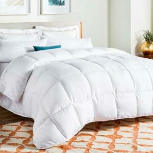 LINENSPA Top Ten King Size Down and Down Alternative Comforters