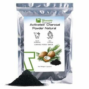 LUCKYLIFE Top 10 Activated Coconut Charcoal Powders
