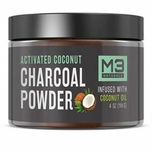 M3 Naturals Top 10 Activated Coconut Charcoal Powders