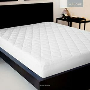 MALOUF Top Ten Full-Size Mattress Pads