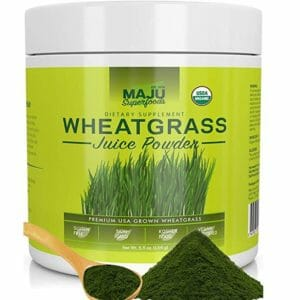 Maju Superfoods Top Ten Wheatgrass Powder