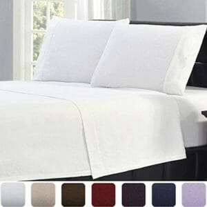 Mellanni Top Ten Queen Size Flannel Sheet Sets