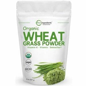 Micro Ingredients Top Ten Wheatgrass Powder