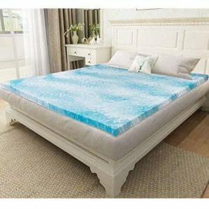 Milemont Top Ten Twin Size Memory Foam Mattress Toppers