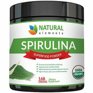 Natural Elements Top Ten Spirulina Powder