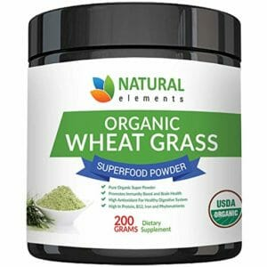 Natural Elements Top Ten Wheatgrass Powder