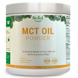 Nested Naturals Top Ten MCT Oil Powder