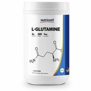 Nutricost Top 10 Glutamine Powder