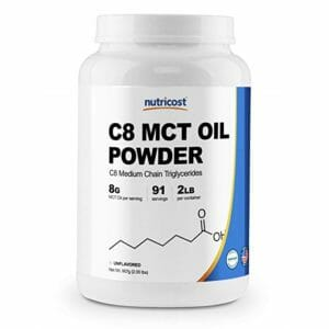 Nutricost Top Ten MCT Oil Powder