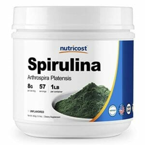 Nutricost Top Ten Spirulina Powder