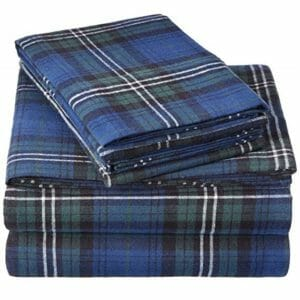 Pinzon Top Ten Queen Size Flannel Sheet Sets