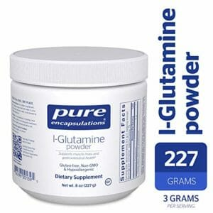 Pure Encapsulations Top 10 Glutamine Powder