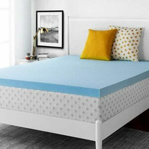 RUUF Top Ten Full-Size Memory Foam Mattress Toppers