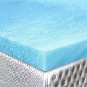 Red Nomad Top Ten King Size Memory Foam Mattress Toppers