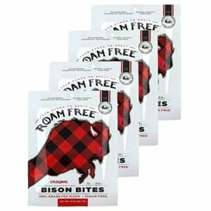 Roam Free Top Ten Bison Jerky