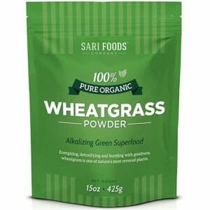 Sari Foods Co Top Ten Wheatgrass Powder