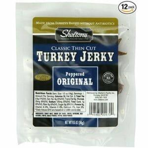 Shelton Top Ten Turkey Jerky