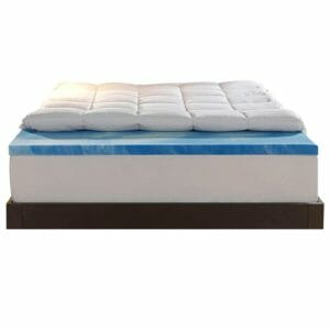Sleep Innovations Top Ten Full-Size Memory Foam Mattress Toppers