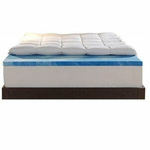 Sleep Innovations Top Ten King Size Memory Foam Mattress Toppers