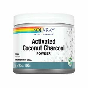 Solaray Top 10 Activated Coconut Charcoal Powders